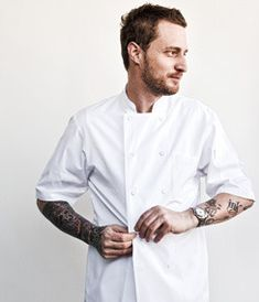 Chef Michael Voltaggio - Los Angeles, CA He can just take the jacket off!! Haha!