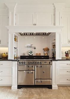Wow Kitchen Ideas 3001384986 Thoughtfully pleasing concept for a super charming modern home decor kitchen hoods Amazing kitchen decor examples posted on this fun day 20181125 Kitchen Hoods, Kitchen Stove, Ikea Kitchen, Home Decor Kitchen, Country Kitchen, Kitchen And Bath, Home Kitchens, Kitchen Cabinets, Kitchen Faucets