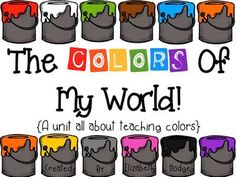 A unit full of activities to help students practice their colors and color names!