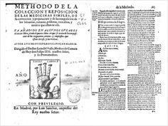 Methodo de la colección y reposición de las medicinas simples... de Luis de Oviedo 1622. Trata de la composición de los urgüentos, cerotos y emplastos, que están en uso y las recetas de Luis de Oviedo, boticario, publicada en Madrid hacia 1622.
