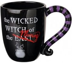Wicked Witch of the East Mug I NEED THIS!!! Love it!!!! :)
