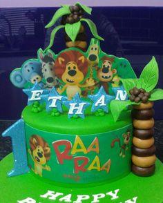 Raa Raa the Noisy Lion Themed cake !