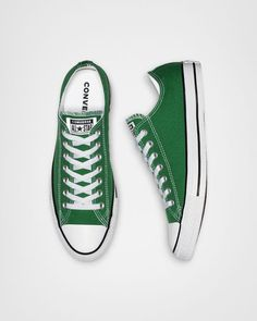 Women shoes Wedges Sandals - - - Women shoes Sports - Women shoes For Work Business Classy - Women shoes Flats Oxfords Converse All Star, Colored Converse, Cute Converse, Green Converse, Converse Low Tops, Outfits With Converse, Converse Classic, Green Sneakers, Chucks Shoes