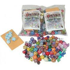 Colore Casuale Dice Die da Quattro Facce Random Color Gioco D/&D d4 DADO Chessex