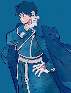 Pin credit goes to owner 鋼の錬金術師 Fullmetal Alchemist, Fulmetal Alchemist, Roy Mustang, Me Anime, Manga Anime, Fanart, Arte Cyberpunk, Another Anime, Animation