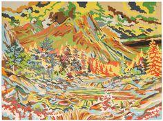 mountain beauty, random re-arrangement Steve Butcher