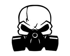 Skull gas mask racing off-road door decals set new 16 colors vinyl stickers fits all cars trucks custom jeep challenger ram dodg Gas Mask Drawing, Gas Mask Art, Masks Art, Gas Masks, Gas Mask Tattoo, Arte Cholo, Jdm Stickers, Dark Art Tattoo, One Piece Drawing