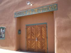 The Santa Fe Playhouse, Santa is the oldest theater now in operation west of the Mississippi Rive. photo/Steve Collins