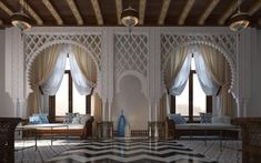Luxury Moroccan Bathroom Design With Exotic Extravagance Interior Modern, Interior Architecture, Interior And Exterior, Morrocan Decor, Moroccan Bathroom, Modern Moroccan, Moroccan Design, Moroccan Style, Arabian Decor