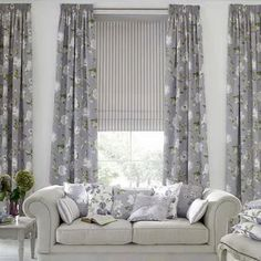 peppen sie ihre wohnung durch sch ne gardinen auf gardinen pinterest gardinen haus and. Black Bedroom Furniture Sets. Home Design Ideas