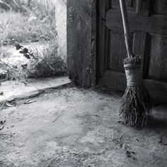 """With this besom filled with power, Sweep away the old and sour. Sweep away the chill of death, As winter draws its last cold breath. Round, round, round about, Sweep the old and useless out!"" Imbolc."