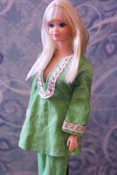 PJ is wearing a vintage clone outfit Play Barbie, Barbie Life, Barbie World, Barbie And Ken, Barbie Dress, Barbie Clothes, Beautiful Dolls, Beautiful Life, Malibu Barbie