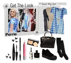 """# Get The Look 02. ~ Perrie Edwards"" by sarkata-boo-bear ❤ liked on Polyvore featuring мода, Francis Leon, Oh My Love, 1928, Nordstrom, yeswalker, Ted Baker, H&M, Isadora и MAKE UP FOR EVER"