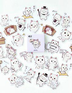 45Pcs//box Fashion Flamingo Paper Stickers Kids Gift Decor DIY Scrapbooking Diary