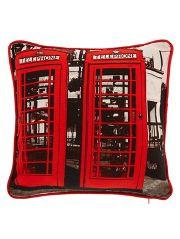 George Home Red Phone Box Cushion direct.asda.com