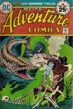 Adventure Comics #437. Jim Aparo draws the Spectre.