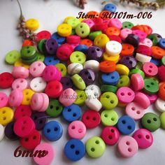 Find More Buttons Information about 200pcs 6mm Mix color 2 holes round mini resin buttons craft scrapbooking accessories diy sewing buttons wholesale,High Quality accessories macbook,China button cover Suppliers, Cheap button watch from Niucky Diy store(Buttons) on Aliexpress.com