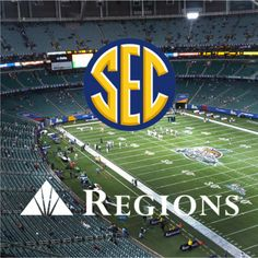 Regions is a proud sponsor of the #SEC. Visit our Facebook page for a chance to win big with our #road2ATLsweeps!