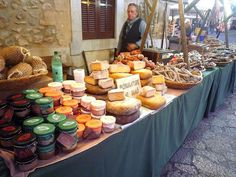 medieval cheese stall - Google Search