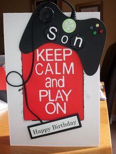 Image result for gamer birthday card