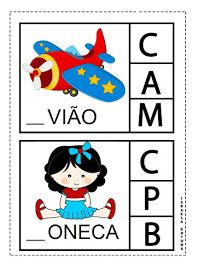 Educação infantil facil: JOGO DA LETRA INICIAL First Grade, Teaching Kids, Professor, Homeschool, Alice, Playing Cards, Nursery, Kids Rugs, Education