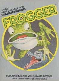Frogger (Atari 2600). One of my absolute favourite games.