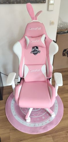 AutoFull Pink Bunny Gaming Chair Review – TopGamingChair Gaming Chair, Rocking Chair, In The Heights, Baby Car Seats, Girly, Models, Games, Children, Pink