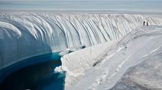 Deshielo en la Antártica y Groenlandia