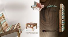 Magnetically Modular, Sustainably Salvaged, Creatively Crafted Wood Home Decor and Furnishings.