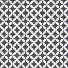 "Circulos Black Price Per Piece: $6.40 Price Per Box: $64.00 Sq. Ft. Needed:	 Sq. Ft. Per Box: 4.4 Pieces Per Box: 10 Length: 8"" (20 cm) Width: 8"" (20 cm) Thickness: 5/8"" Collection: Cement Tile Shop Collection Color Chart: Solid Color Choices As Shown: Black, White; Notes: Pattern can be custom ordered in any colors from the Mexican color chart. Sold by the box only. - See more at…"