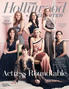 Maybe The Hollywood Reporter's most gorgeous cover ever! What do you think?
