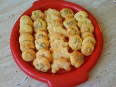 Syrové keksíky - slané pečivo - obrázok 1