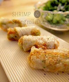 Spring roll / Japanese food