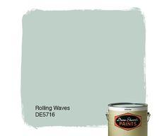 Dunn-Edwards Paints paint color: Rolling Waves DE5716  | Click for a free color sample.