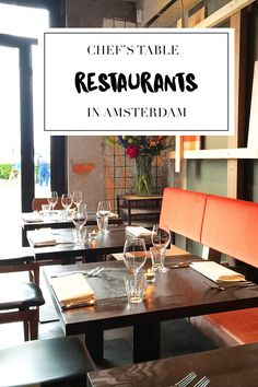"""Want to go to a Chef's Table in Amsterdam? On travel blog http://www.yourlittleblackbook.me, you can check out a list with the 8 best Chef's Tables restaurants in Amsterdam. Planning a trip to Amsterdam? Check http://www.yourlittleblackbook.me/ & download """"The Amsterdam City Guide app"""" for Android & iOs with over 550 hotspots: https://itunes.apple.com/us/app/amsterdam-cityguide-yourlbb/id1066913884?mt=8 or https://play.google.com/store/apps/details?id=com.app.r3914JB"""