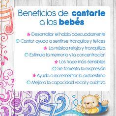 #canto #beneficios #bebé #estimulación #relajación #desarrollo