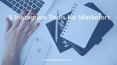 ☢ Require lots of assistance in advertising your products or services in Instagram? Here are some tools to help you with that.