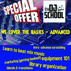 Black Friday special on lessons has been extended til 12/31/2019... take advantage. Tag or share with someone that may be interested. www.dfwdjschool.com