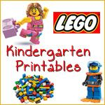 This Lego Kindergarten Pack   features many Pre K and Kindergarten   literacy and math skills!  FREE