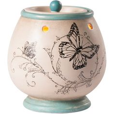 ScentSationals French Butterfly Full-Size Warmer