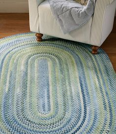 Chenille Braided Rug, Oval: Rugs and Rug Pads at L.L.Bean also check rosenberryrooms.com