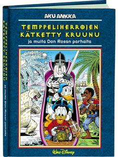 Temppeliherrojen kätketty kruunu (Don Rosa) - Aku Ankan kauppa Don Rosa, Walt Disney, Comic Books, Comics, Cartoons, Cartoons, Comic, Comic Book, Comics And Cartoons