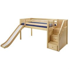 The Carter Low Loft Bed is a fun and functional loft for your child!