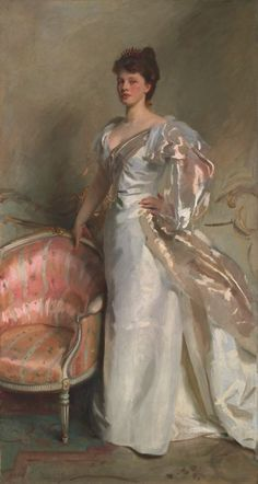 "This painting awed me, I still think about it. Art Institute of Chicago - John Singer Sargent ""Mrs. George Swinton (Elizabeth Ebsworth)"" My essay: http://derekdenton.com/blog/2011/9/5/waiting-on-elizabeths-portrait.html"
