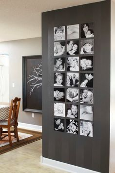 Modern Wall Decor Ideas picture frame wall | beautiful space, spaces and walls