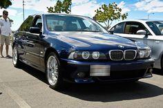 BMW E39 540i M5 Styling Montreal Blue