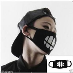 1.99$  Buy now - http://viqoi.justgood.pw/vig/item.php?t=9mns4651788 - KPOP Bigbang G-Dragon T.O.P Mouth Mask Facial Nose Cool Face Muffle