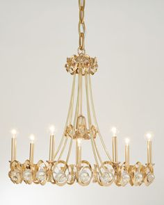 Jewel Tangle Chandelier by Julia Buckingham for Global Views at Horchow.
