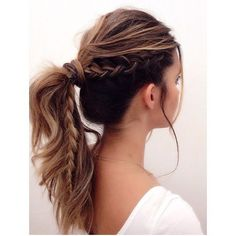 Charming Braided Ponytail