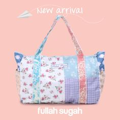 FULLAHSUGAH New Arrival! Shopper με φλόραλ σχέδιο | 1434103826 #fashion #bags #trends #summer_look #style